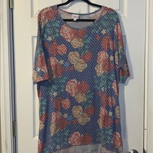 Lularoe Irma patriotic Unicorn XL